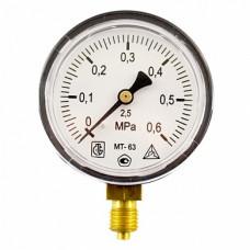Манометр МТ 63П 0,6МПа