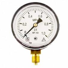 Манометр МТ 63П 1,0МПа