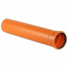 Труба напорная ПВХ SN4 110х1м (3,2 мм)