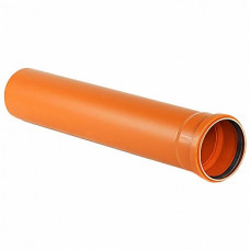 Труба напорная ПВХ SN4 160х1м (4 мм)