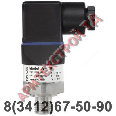 """Датчик давления A-10 0-6 бар G1/2"""" Wika 13460511"""