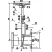 Задвижка стальная фланцевая 30с15нж Ду 50