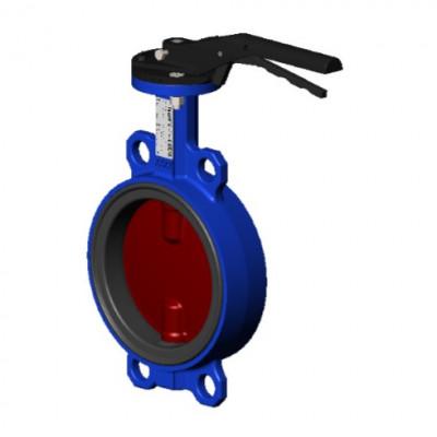 Затвор дисковый пов. Tecofi VPI4448-08 EPDM Ру16 Ду300 редуктор